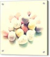 Yummy Mini Eggs Acrylic Print