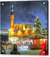 Yury Bashkin Tallinn New Year Acrylic Print