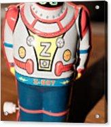 Z-bot Robot Toy Acrylic Print