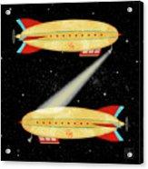 Z Is For Zeppelin Acrylic Print