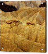 Zabriskie Point, Death Valley Acrylic Print