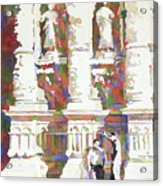 Zacatecas Cathedral Acrylic Print