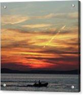 Zadar Sunset Acrylic Print