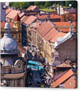 Zagreb Afternoon Acrylic Print