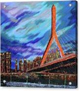 Zakim Bridge - Boston Acrylic Print