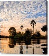 Zambezi Sunset Acrylic Print