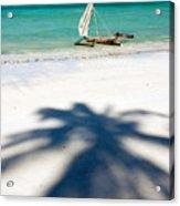Zanzibar Beach Acrylic Print