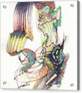 Zappa Baton Acrylic Print
