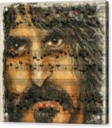 Zappa The Walz  Acrylic Print