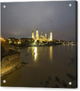Zaragoza Nights  Acrylic Print