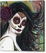 Zatina Day Of The Dead Acrylic Print