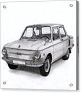 Zaz-966 Zaporozhets Acrylic Print