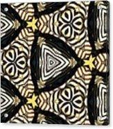 Zebra Iv Acrylic Print