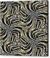 Zebra Vii Acrylic Print