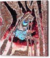 Zebras Eye - Abstract Art Acrylic Print