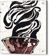 Zebratini Acrylic Print