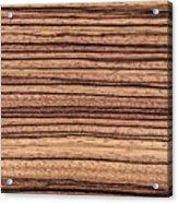 Zebrawood - Natural Abstract Acrylic Print