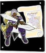 Zechariah 12 Vs.8 The Feeble As David Acrylic Print