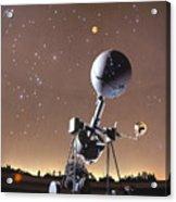 Zeiss Planetarium Projector Acrylic Print