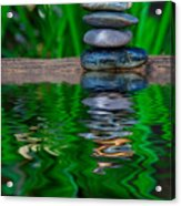 Zen Art And Reflections By Kaye Menner Acrylic Print