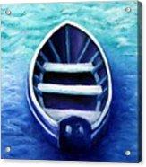 Zen Boat Acrylic Print
