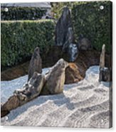 Zen Garden, Kyoto Japan 2 Acrylic Print