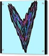 Zen Hearts In Betweens Acrylic Print