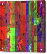 Zen Owl Abundance Acrylic Print