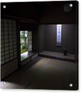 Zen Tea Room Of Koto-in Temple -- Kyoto Japan Acrylic Print