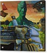 Abe City Zephyr Acrylic Print