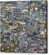Zermatt From Klein Matterhorn Acrylic Print