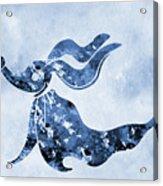 Zero-blue Acrylic Print