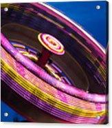 Zero Gravity Spin Acrylic Print