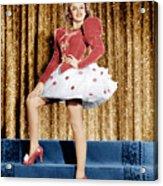 Ziegfeld Girl, Judy Garland, 1941 Acrylic Print