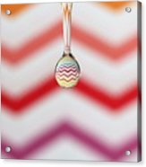 Zigzag Water Drop 3 Acrylic Print