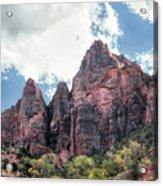 Zion Canyon Terrain Acrylic Print