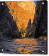 Zion Acrylic Print