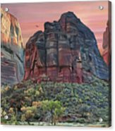 Zion National Park Sunset Acrylic Print