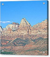 Zion National Park, Valley View Acrylic Print