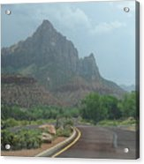Zion National Part 2 Acrylic Print