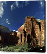 Zion Panorama Acrylic Print