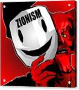 Zionism Devil Acrylic Print