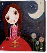 Zodiac Libra Acrylic Print by Laura Bell