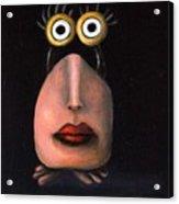 Zoe 2 The Little Alien Acrylic Print