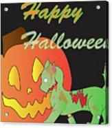 Zombie Cat Acrylic Print