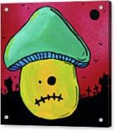 Zombie Mushroom 1 Acrylic Print by Jera Sky