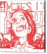 Zombie Music Acrylic Print