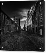 Zombieland The Fort William Starch Company Acrylic Print