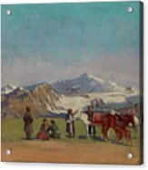 Zommer, Richard 1866-1939 In The Mountains Of Alatau Acrylic Print