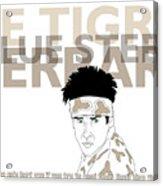 Zoolander Acrylic Print